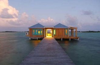 China Steel Frame Overwater Bungalow supplier