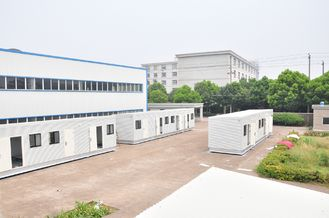China Light Steel Prefab Modular Homes supplier