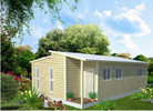 China Prefabricated Light Steel Frame Australian Granny Flats , One Slope Roof House factory