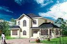 China White Light Gauge Steel Prefab Villa / Architectural Prefab Homes America Standard factory