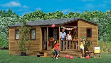 China Australia Folding Mobile Homes , One Floor  Villa Style Prefabricated Mobile Homes distributor