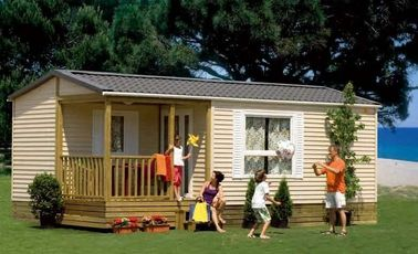 China Europe Style Mobile Homes , removable Holiday Home , Foldable House distributor