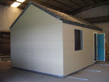 China Light Steel Structure Mobile Modular Homes / Foldable Small Modular Prefab House distributor