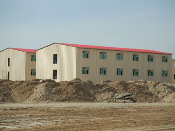 China Low Cost Prefab Commercial Buildings / Energy Saveing Prefab Metal Building distributor