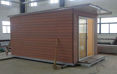 China Light Steel structure Holiday Home / Prefabricated Garden Studio For Holiday Living distributor
